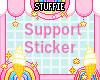 Support Sticker