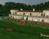 Mansion W/Tennis Court