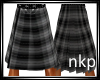 NKP-Grey Plaid  Kilt