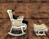 Rocking Chair w/ Ottoman