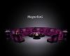 ~MG~SugarPlum Round Sofa