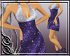 !SS silver/purple dress
