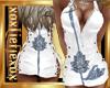 [L] White Lotus Dress F