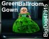 [BD]GreenBallroomGown