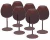 Set of Wine Goblets
