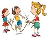 3 Person Jump Rope
