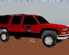 Red GMC Car