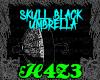 *H4*SkullBlackUmbrella