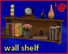 !@ Antique wall shelf