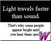 Light Travels -stkr