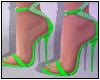 Valentina Heels Green