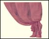 Right purple curtain