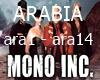 Mono inc. Arabia