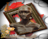 Africa frame woman