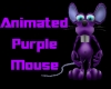 (S)Animated Purple Mouse