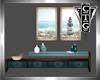 CTG HALLWAY TABLE & ART