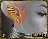☯ Gold Ear Cuff (R)