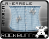 [rb] Blue Gingham Corset