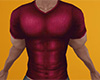 Red Muscled Shirt 2 (M)