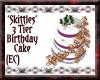{EC}Skittles Bday Cake