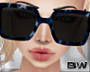 Blue Tartan Sunglasses Q