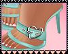Tansy Green Heels
