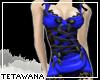 [T] ZOEY Dress Royal GA