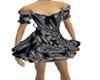 short dress gauzze