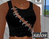 S | Safety pin crop V4 M