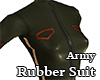 Army Rubber Suit