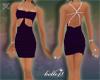 B*Purple Cocktail Dress