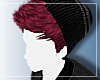 // D1 . Auburn/Red + Hat