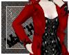 Red Jacket Black Dress
