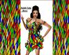 Rubik Cube Dress