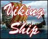 Viking Ship Backdrop