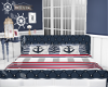 Nautical Padded Bed