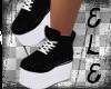 [Ele]BLACK SNEAKERS