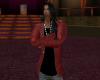 veste costume red
