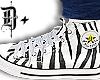 D+ Sneakers ZEBRA
