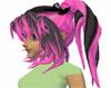 raver pink skull bows