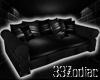 33l Black Sofa 4P
