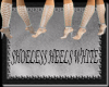 [FCS] Shoeless Heels Wht