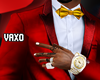 𝓥 Red Gold Tuxedo
