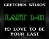 Gretchen Wilson~Love To