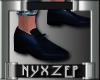 No Socks Mens Shoe Navy