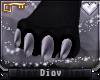 *D* Aliza Feet w/ Claws