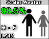 Scaler Avatar M F 98.5%