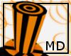 Orange&Black Hat {MD}