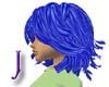 Blue Amy Hair