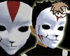 «H» ANBU Mask with Crack